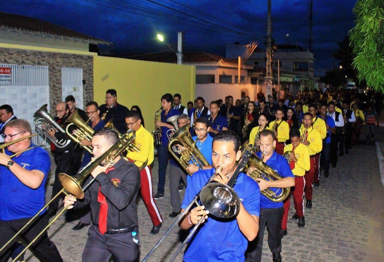 Pão de Açúcar: Filarmônicas de Alagoas participam das comemorações dos 101 anos da Banda Guarany