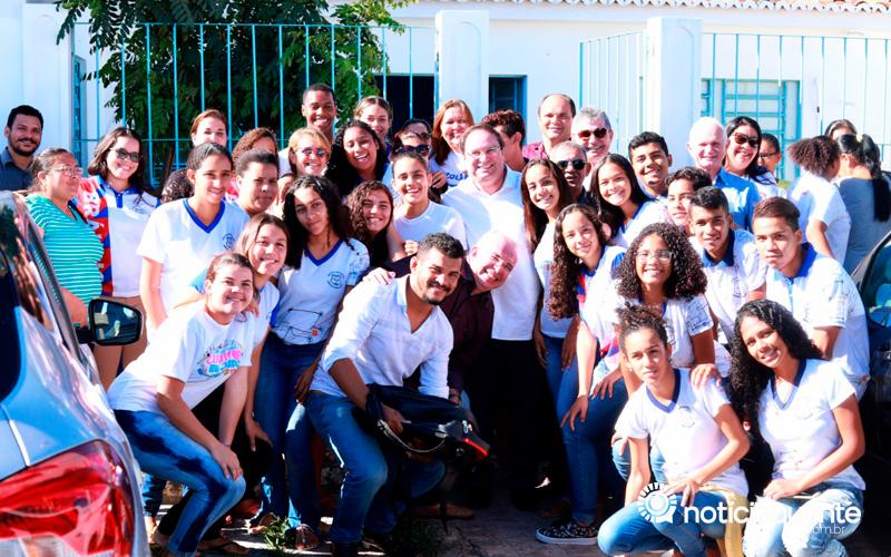 Pão de Açúcar: Vice-governador Luciano Barbosa realiza palestra no lançamento do Programa Escola 10