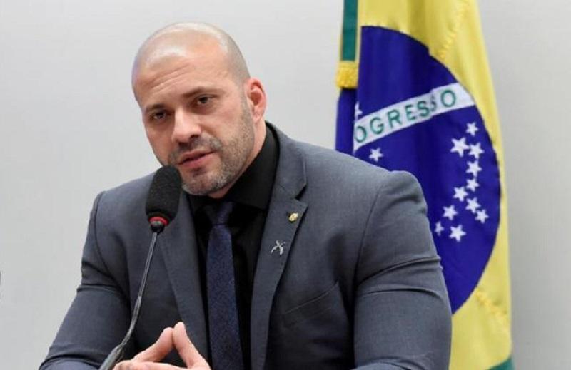 Deputado federal Daniel Silveira (PSL)