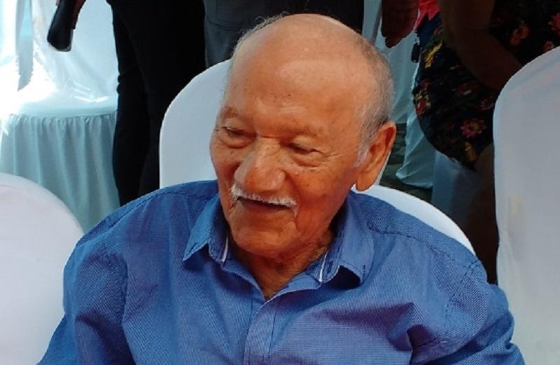 O pescador João Francisco dos Santos, 'João Busano'
