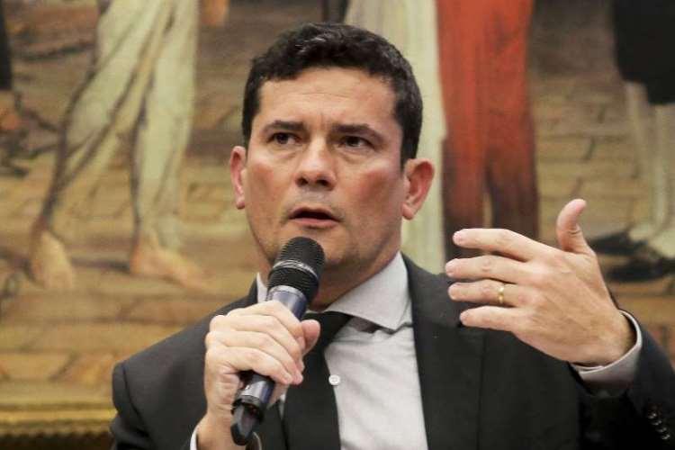 O ministro da Justiça e Segurança Pública, Sergio Moro