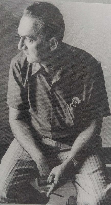 O escritor Aldemar de Mendonça...