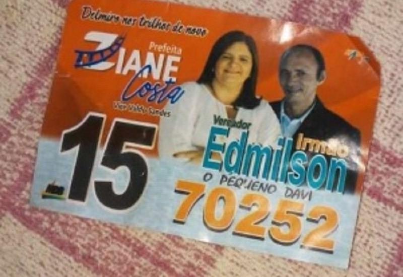 Candidato de Delmiro Gouveia faz campanha com número errado e não recebe voto