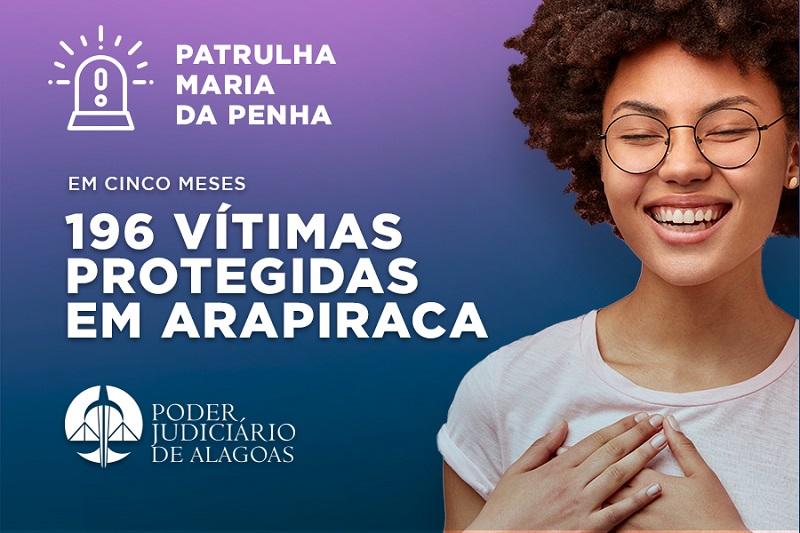 Patrulha Maria da Penha já protegeu quase 200 mulheres em Arapiraca