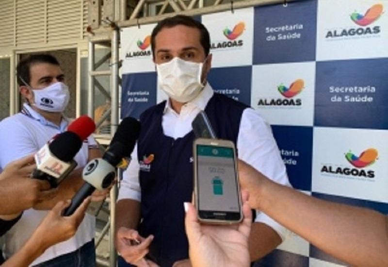 Secretário Alexandre Ayres informa que Estado não trabalha com hipótese de uma segunda onda da doença