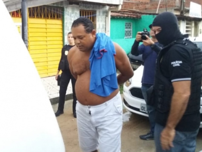 Suspeito de estupro foi preso durante operação no bairro de Guaxuma