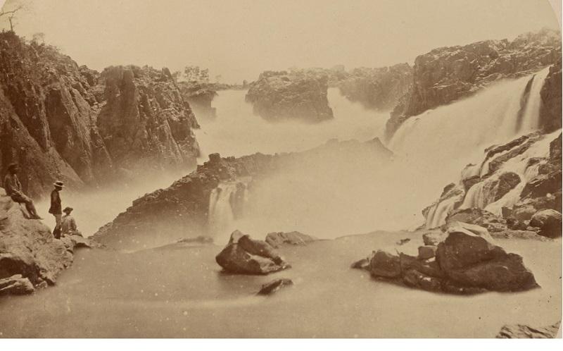 Cachoeira de Paulo Afonso. Foto: Marc Ferrez_1875