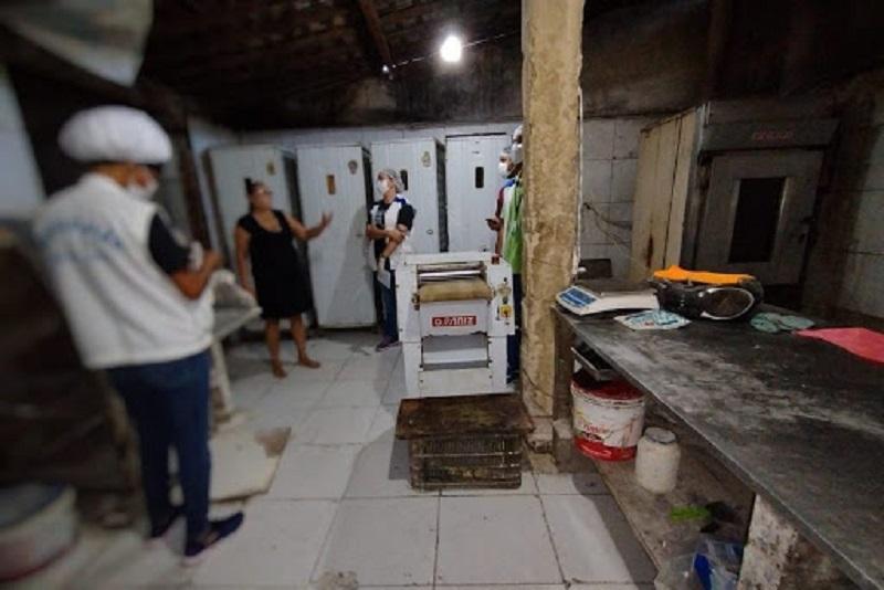 Por questões de higiene, Vigilância Sanitária interdita três panificações em Maceió