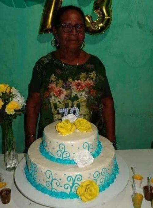 Comemorando os 73 anos, em 2017