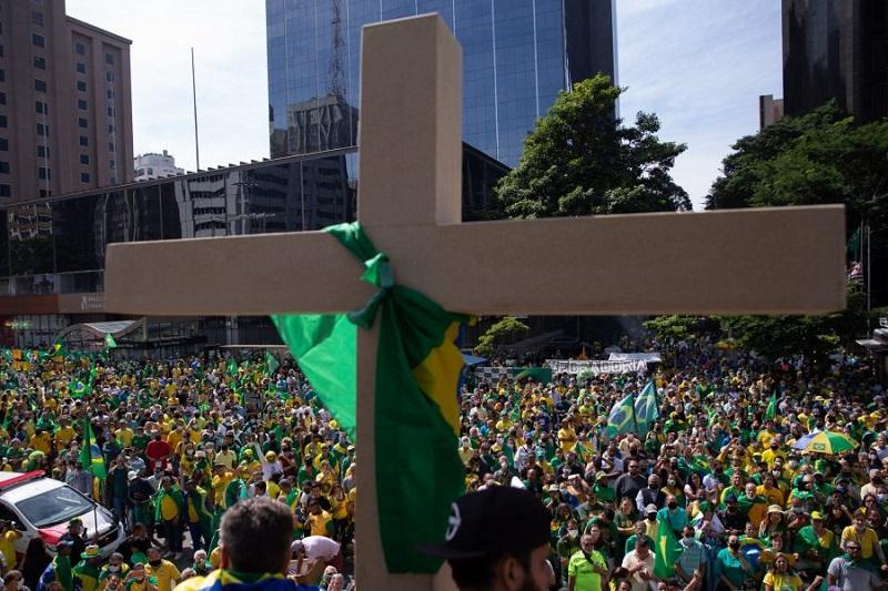 1.o de Maio/21 registra as maiores manifestações de rua desde a eleição de Bolsonaro