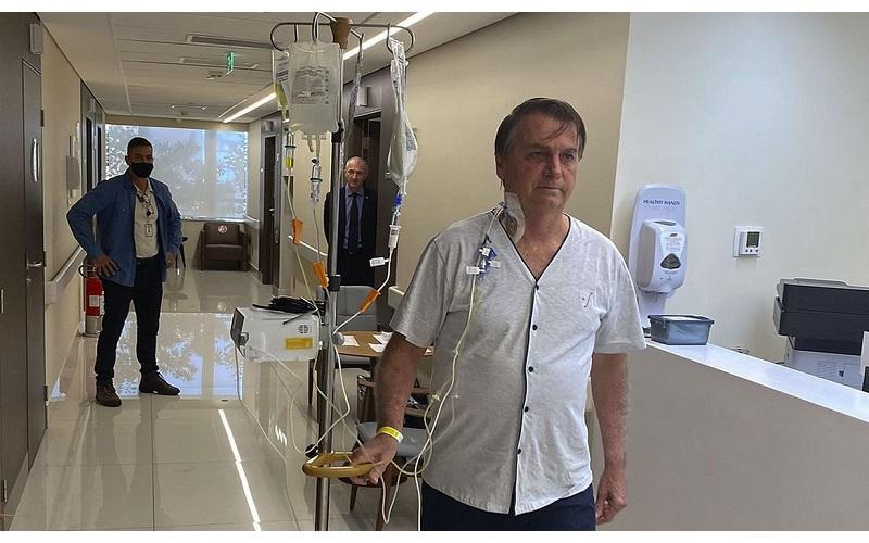 Segundo médico de Bolsonaro, sistema digestivo já está funcionando