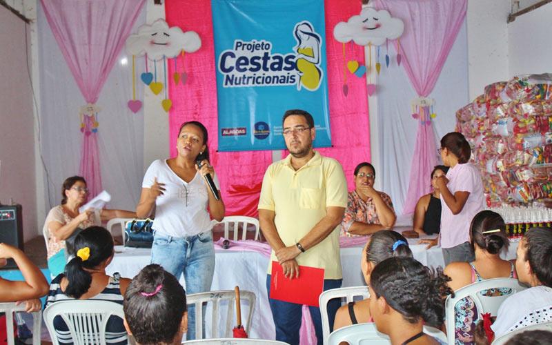 Prefeitura entrega Cestas Nutricionais a gestantes, nutrizes e crianças