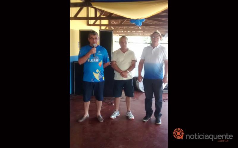 Cleberson Pinheiro, Jorge Luiz e Helio Fialho