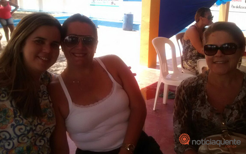 Camila, Rogéria e Izilda